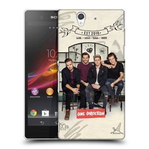 Plastové pouzdro na mobil Sony Xperia Z C6603 HEAD CASE One Direction - EST 2010