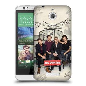 Plastové pouzdro na mobil HTC Desire 510 HEAD CASE One Direction - EST 2010