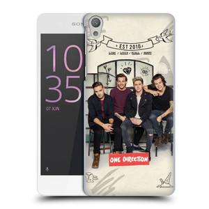 Plastové pouzdro na mobil Sony Xperia E5 HEAD CASE One Direction - EST 2010