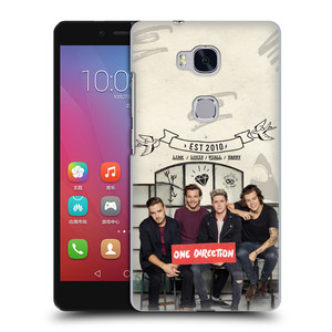 Plastové pouzdro na mobil Honor 5X HEAD CASE One Direction - EST 2010