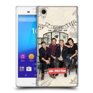 Plastové pouzdro na mobil Sony Xperia M4 Aqua E2303 HEAD CASE One Direction - EST 2010