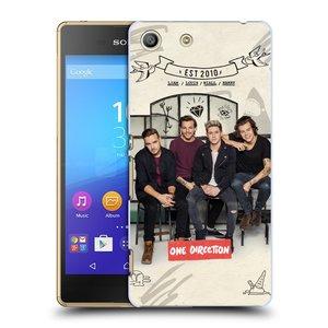 Plastové pouzdro na mobil Sony Xperia M5 HEAD CASE One Direction - EST 2010
