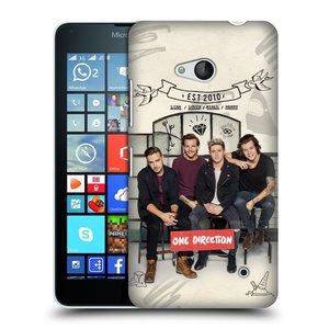 Plastové pouzdro na mobil Microsoft Lumia 640 HEAD CASE One Direction - EST 2010