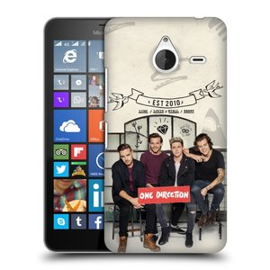 Plastové pouzdro na mobil Microsoft Lumia 640 XL HEAD CASE One Direction - EST 2010