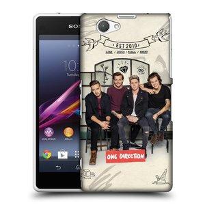 Plastové pouzdro na mobil Sony Xperia Z1 Compact D5503 HEAD CASE One Direction - EST 2010
