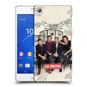 Plastové pouzdro na mobil Sony Xperia Z3 D6603 HEAD CASE One Direction - EST 2010