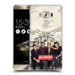 Plastové pouzdro na mobil Asus ZenFone 3 Deluxe ZS570KL HEAD CASE One Direction - EST 2010