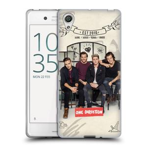 Silikonové pouzdro na mobil Sony Xperia X HEAD CASE One Direction - EST 2010