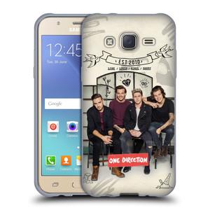Silikonové pouzdro na mobil Samsung Galaxy J5 HEAD CASE One Direction - EST 2010