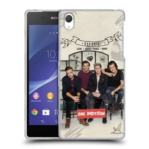 Silikonové pouzdro na mobil Sony Xperia Z2 D6503 HEAD CASE One Direction - EST 2010