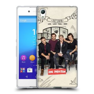Silikonové pouzdro na mobil Sony Xperia Z3+ (Plus) HEAD CASE One Direction - EST 2010