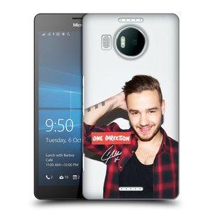 Plastové pouzdro na mobil Microsoft Lumia 950 XL HEAD CASE One Direction - Liam