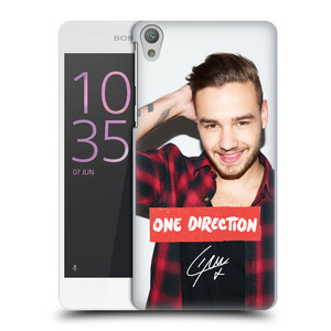 Plastové pouzdro na mobil Sony Xperia E5 HEAD CASE One Direction - Liam