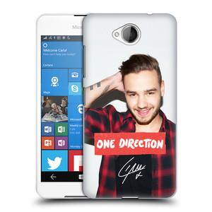 Plastové pouzdro na mobil Microsoft Lumia 650 HEAD CASE One Direction - Liam