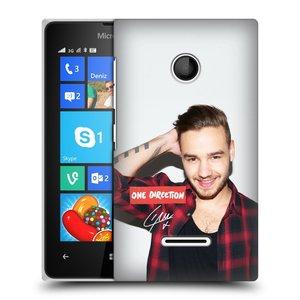 Plastové pouzdro na mobil Microsoft Lumia 435 HEAD CASE One Direction - Liam