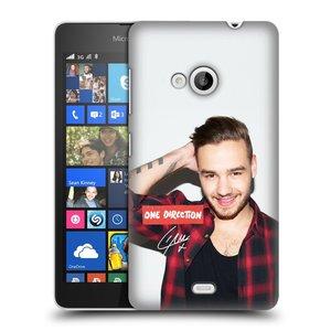 Plastové pouzdro na mobil Microsoft Lumia 535 HEAD CASE One Direction - Liam