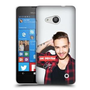 Plastové pouzdro na mobil Microsoft Lumia 550 HEAD CASE One Direction - Liam