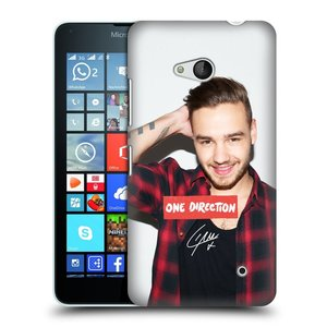 Plastové pouzdro na mobil Microsoft Lumia 640 HEAD CASE One Direction - Liam