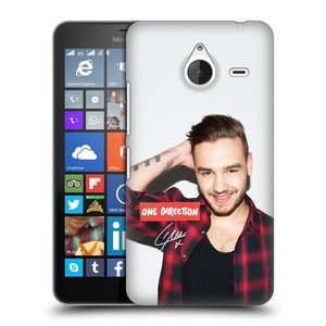 Plastové pouzdro na mobil Microsoft Lumia 640 XL HEAD CASE One Direction - Liam