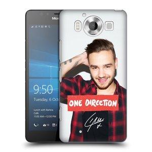 Plastové pouzdro na mobil Microsoft Lumia 950 HEAD CASE One Direction - Liam