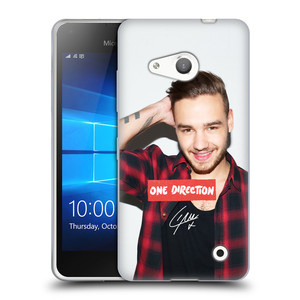 Silikonové pouzdro na mobil Microsoft Lumia 550 HEAD CASE One Direction - Liam
