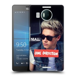 Plastové pouzdro na mobil Microsoft Lumia 950 XL HEAD CASE One Direction - Niall