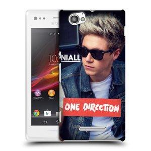 Plastové pouzdro na mobil Sony Xperia M C1905 HEAD CASE One Direction - Niall