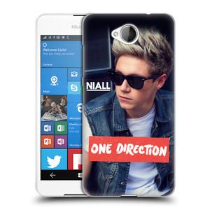 Plastové pouzdro na mobil Microsoft Lumia 650 HEAD CASE One Direction - Niall