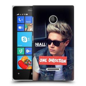 Plastové pouzdro na mobil Microsoft Lumia 435 HEAD CASE One Direction - Niall