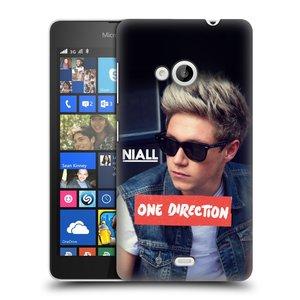 Plastové pouzdro na mobil Microsoft Lumia 535 HEAD CASE One Direction - Niall