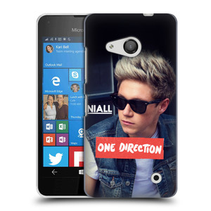 Plastové pouzdro na mobil Microsoft Lumia 550 HEAD CASE One Direction - Niall