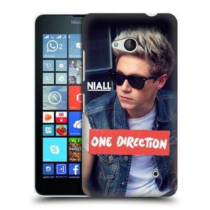 Plastové pouzdro na mobil Microsoft Lumia 640 HEAD CASE One Direction - Niall