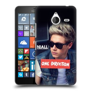 Plastové pouzdro na mobil Microsoft Lumia 640 XL HEAD CASE One Direction - Niall