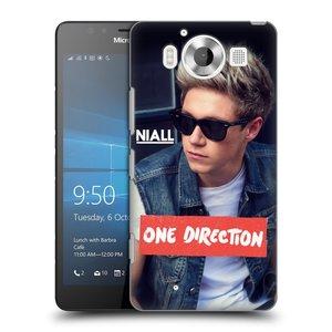 Plastové pouzdro na mobil Microsoft Lumia 950 HEAD CASE One Direction - Niall