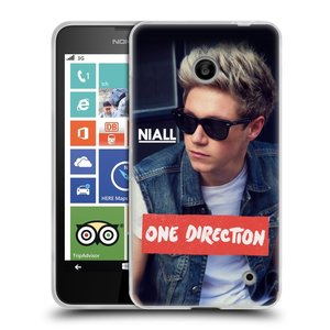 Silikonové pouzdro na mobil Nokia Lumia 630 HEAD CASE One Direction - Niall
