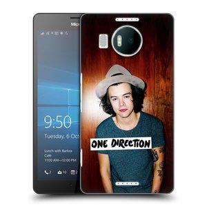 Plastové pouzdro na mobil Microsoft Lumia 950 XL HEAD CASE One Direction - Harry