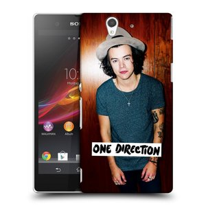 Plastové pouzdro na mobil Sony Xperia Z C6603 HEAD CASE One Direction - Harry