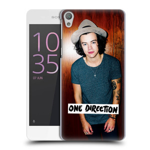 Plastové pouzdro na mobil Sony Xperia E5 HEAD CASE One Direction - Harry