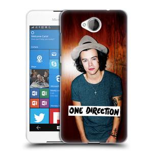 Plastové pouzdro na mobil Microsoft Lumia 650 HEAD CASE One Direction - Harry