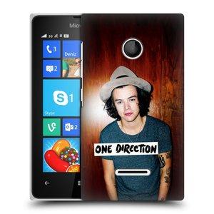 Plastové pouzdro na mobil Microsoft Lumia 435 HEAD CASE One Direction - Harry