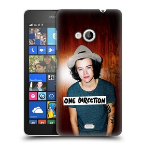 Plastové pouzdro na mobil Microsoft Lumia 535 HEAD CASE One Direction - Harry