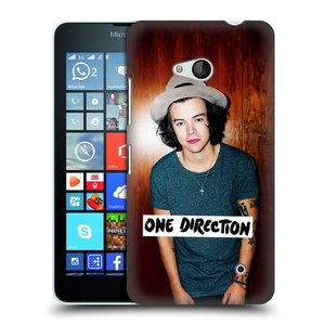 Plastové pouzdro na mobil Microsoft Lumia 640 HEAD CASE One Direction - Harry