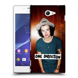 Plastové pouzdro na mobil Sony Xperia M2 D2303 HEAD CASE One Direction - Harry