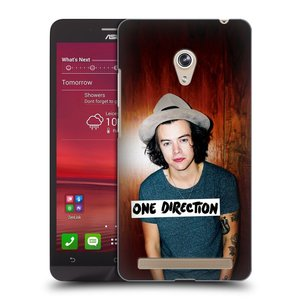 Plastové pouzdro na mobil Asus Zenfone 6 HEAD CASE One Direction - Harry