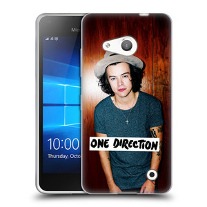 Silikonové pouzdro na mobil Microsoft Lumia 550 HEAD CASE One Direction - Harry