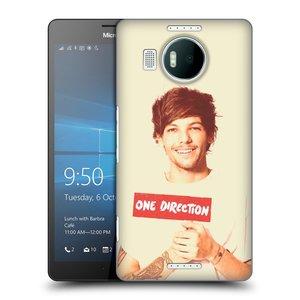 Plastové pouzdro na mobil Microsoft Lumia 950 XL HEAD CASE One Direction - Louis