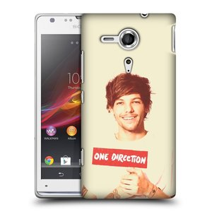 Plastové pouzdro na mobil Sony Xperia SP C5303 HEAD CASE One Direction - Louis