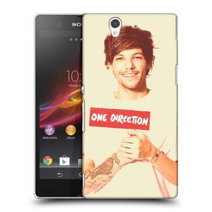 Plastové pouzdro na mobil Sony Xperia Z C6603 HEAD CASE One Direction - Louis