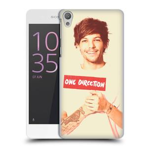 Plastové pouzdro na mobil Sony Xperia E5 HEAD CASE One Direction - Louis