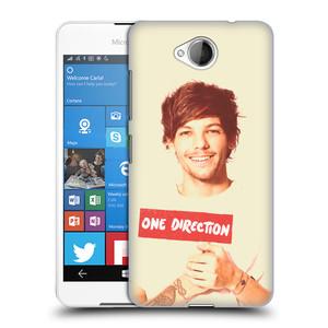 Plastové pouzdro na mobil Microsoft Lumia 650 HEAD CASE One Direction - Louis